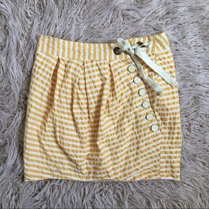 Anthropologie Leifsdottir Striped Skirt